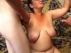 Fat Grandmother Orgy