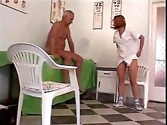 Older Guy Fucks Young Nurse