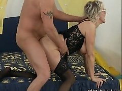 Dirty Mature Woman Gets Fucked Hard From Behind While S