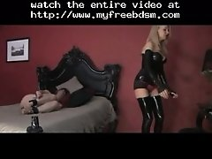 Anal Play With Sexy Dominatrix BDSM Bondage Slave Femd