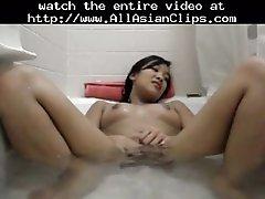 Asian Masturbate In Bath Asian Cumshots Asian Swallow J