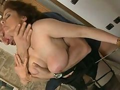Milf Fuck Huge Cock And Get Facial