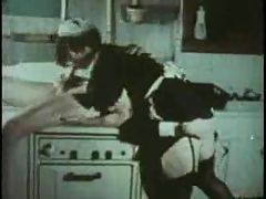 Maid Sucking And Fucking Oral Creampie