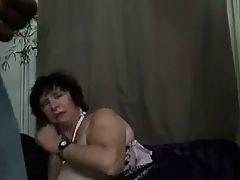 French BBW 65yo Granny Olga Fucked By 2 Men Dp
