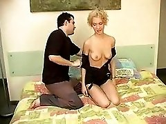Curly Blonde Gives Her Ass To The Hard Cock