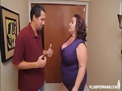 Busty BBW MILF Lady Lynn Fucks Landlord To Save House