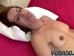 He Fucks His Mature Maid On Sofa