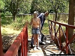 Young And Busty Joanna Fucking Outdoors