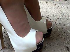 Heels And Nylon