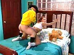 Midget Fucks The Teen Girl