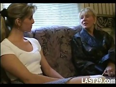 Mature Woman Likes The Younger Pussy