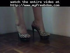 High Heels Shoes Legs Feet Foots BDSM Bondage Slave Fem