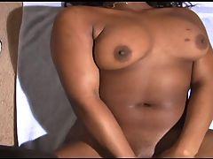 Ebony Teen With Huge Clit Masturbates Till Climax