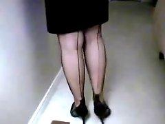 Nylon Foot Slut Tease 2