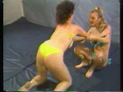 Retro Bikini Wrestling