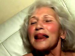 Banging The Grannys Hairy Pussy