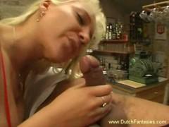 Dutch Blonde Finger Banged And Fucked Hard