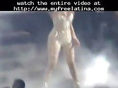 Jennifer Lopez Sex Bomb Latina Cumshots Latin Swallow B