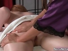 Mature Hot Blonde Slut With Nice Body Gives Nice Massag
