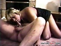 Mature Woman Having Oral Sex