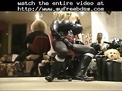 Roxina Gurl In Rubberboots BDSM Bondage Slave Femdom Do