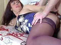 Nice Plump Sweet Stepmom And Guy
