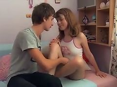 Young Teenage Couple Fucks