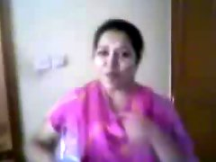 Southindian Mallu Auntys Nude Body Exposed By Partner
