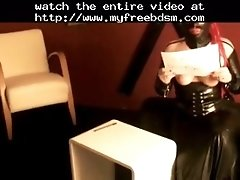 Interracial Verbal Use BDSM Bondage Slave Femdom Domina