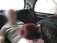 Redhead Lady Gets Fucked And Creampie