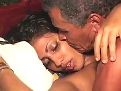 65 Year Old Indian Man With 21 Year Old College Girl