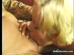 Bald Grandpa Fucks Blonde Teen