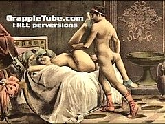 Vintage Retro Classical Hardcore Fucking And Oral Hardcore Sex Perversions