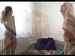 Granny And Young Girl Have Sex Together