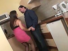 Banged In Kitchen