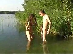 Young Couple In Nudist Adventure Sex Rayra