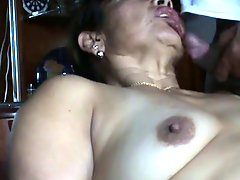Fat Mature Hispanic Couple In A Nice Assfuck