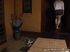 Matsuda Kumiko Dirty Mature Real Asian Sexy Jerking His