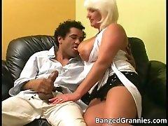 Hot Big Boobed MILF Whore Sucking Big Cock Nice And Dee