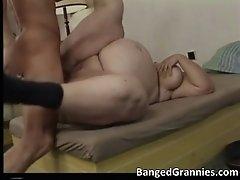 Nasty Brunete MILF Gets Banged Hard Up Tight Wet Pussy