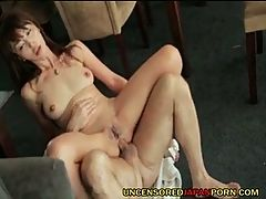 Uncensored Japanese Anal Sex With Shaved Av Teen Idol