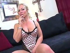 Milf Head 111 Super Duper Blonde Mom
