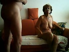 Homemade Grandma And Granddad In A Very Hot Clip
