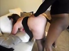 Amateur BBW Takes Black Dick
