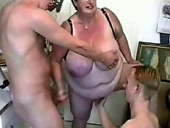 Granny And Two Guys