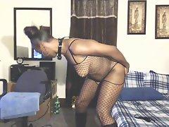 Ebony MILF Anita Teasing Amp Ass Fucking