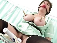 British Lady In Bondage And Toyed
