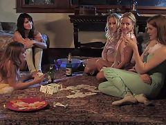 Beautiful Mature Lesbian Seduces Teen Sydnee Amp Sarah