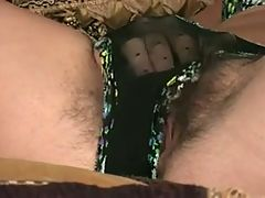 Milf Shows Her Hairy Pussy 2