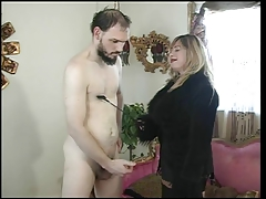 Big Tits Mistress Cristian Her Slave In Action